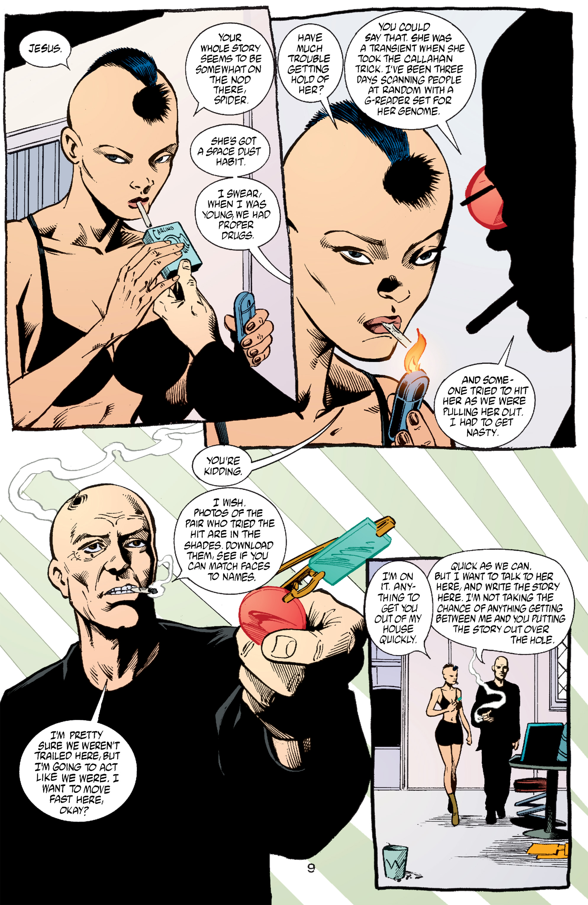 Read online Transmetropolitan comic -  Issue #53 - 10