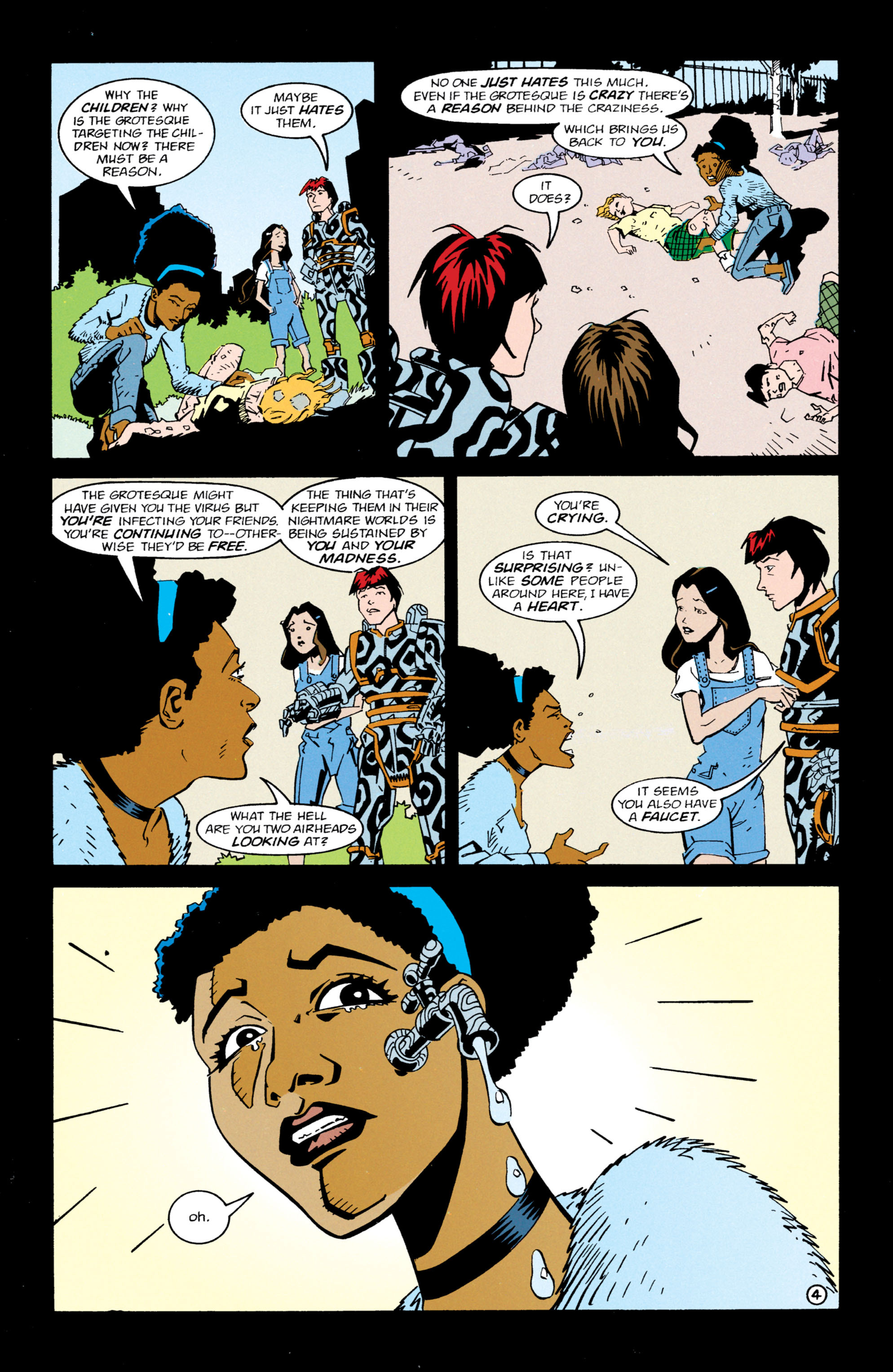 Read online Shade, the Changing Man comic -  Issue #63 - 5