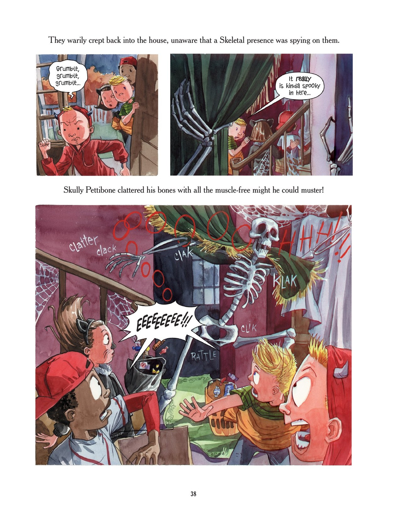 Read online Scary Godmother comic -  Issue # TPB - 38