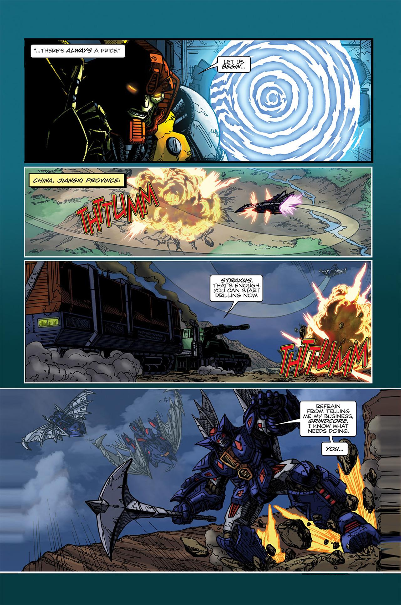 Read online Transformers Spotlight: Doubledealer comic -  Issue # Full - 7