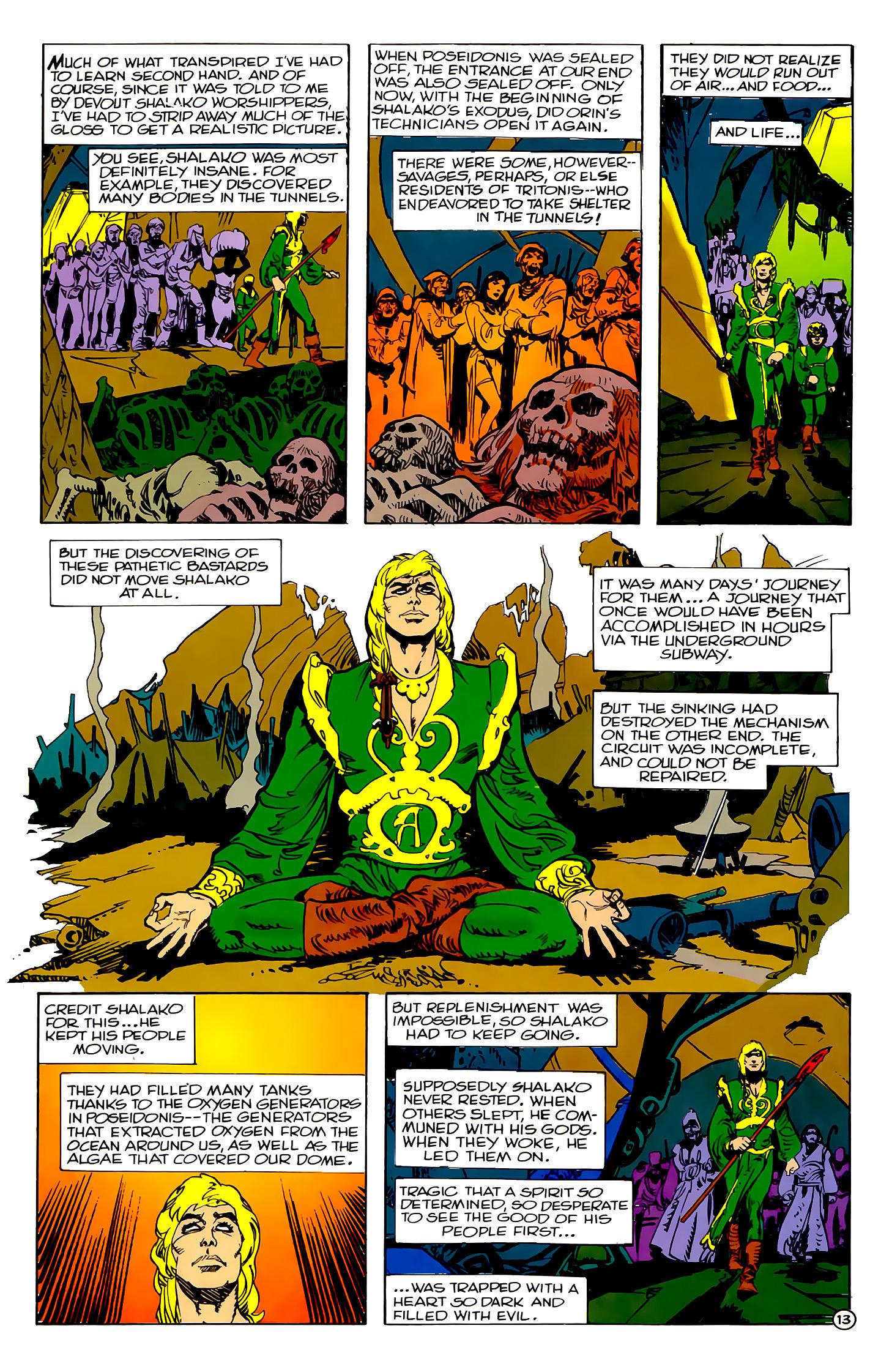 Read online Atlantis Chronicles comic -  Issue #2 - 13