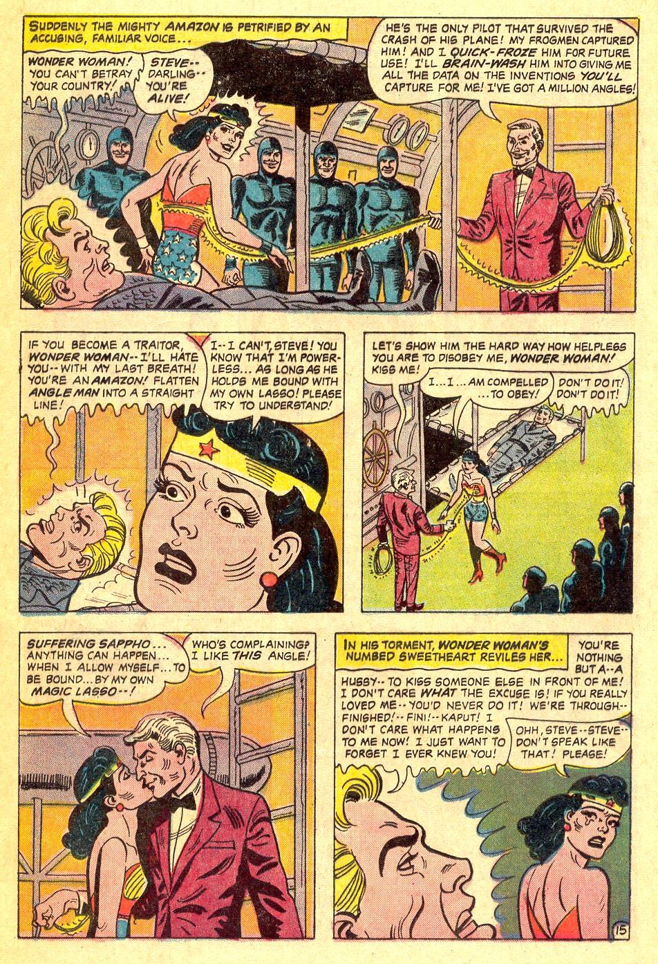 Read online Wonder Woman (1942) comic -  Issue #164 - 20