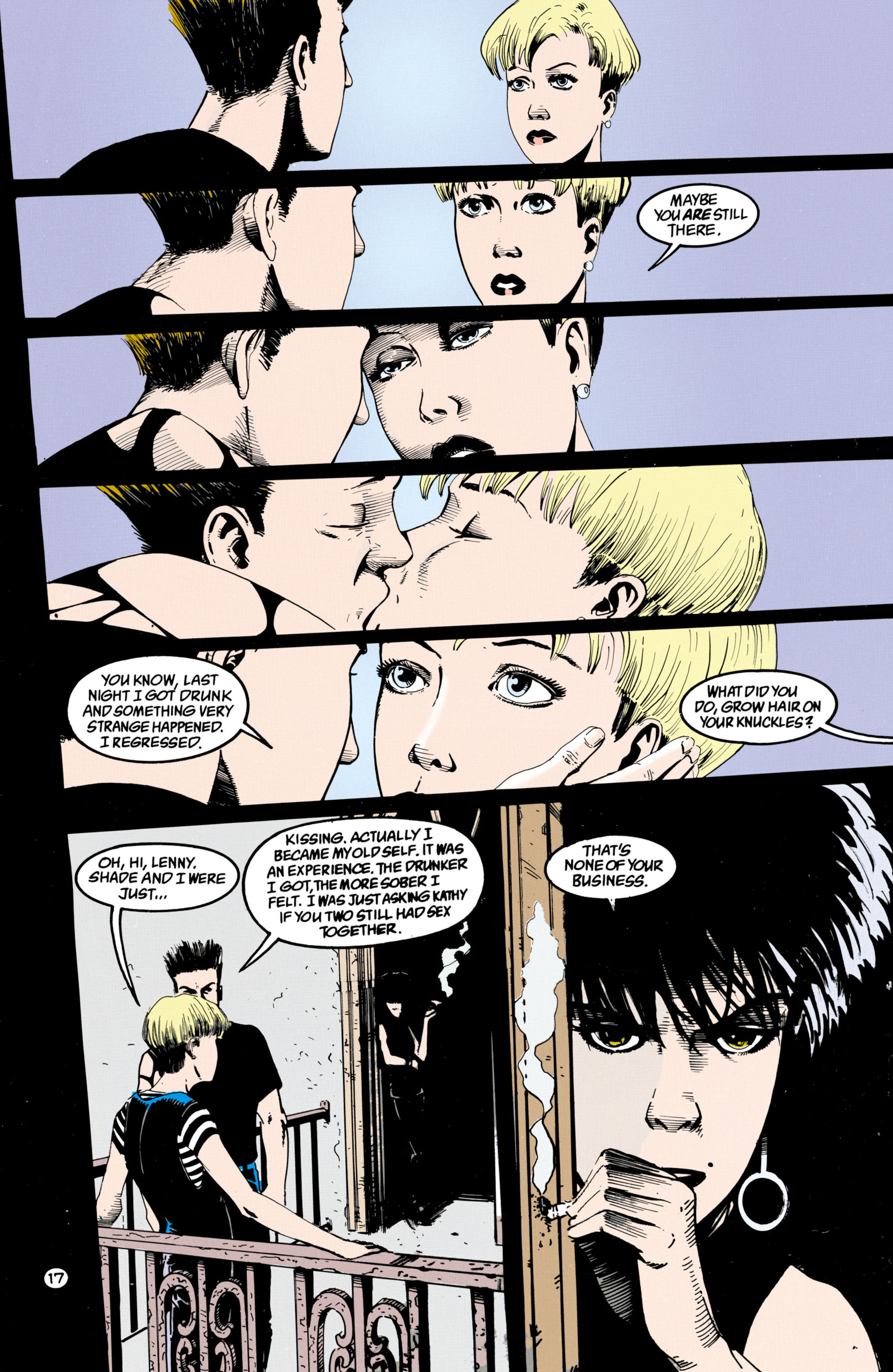 Read online Shade, the Changing Man comic -  Issue #36 - 18