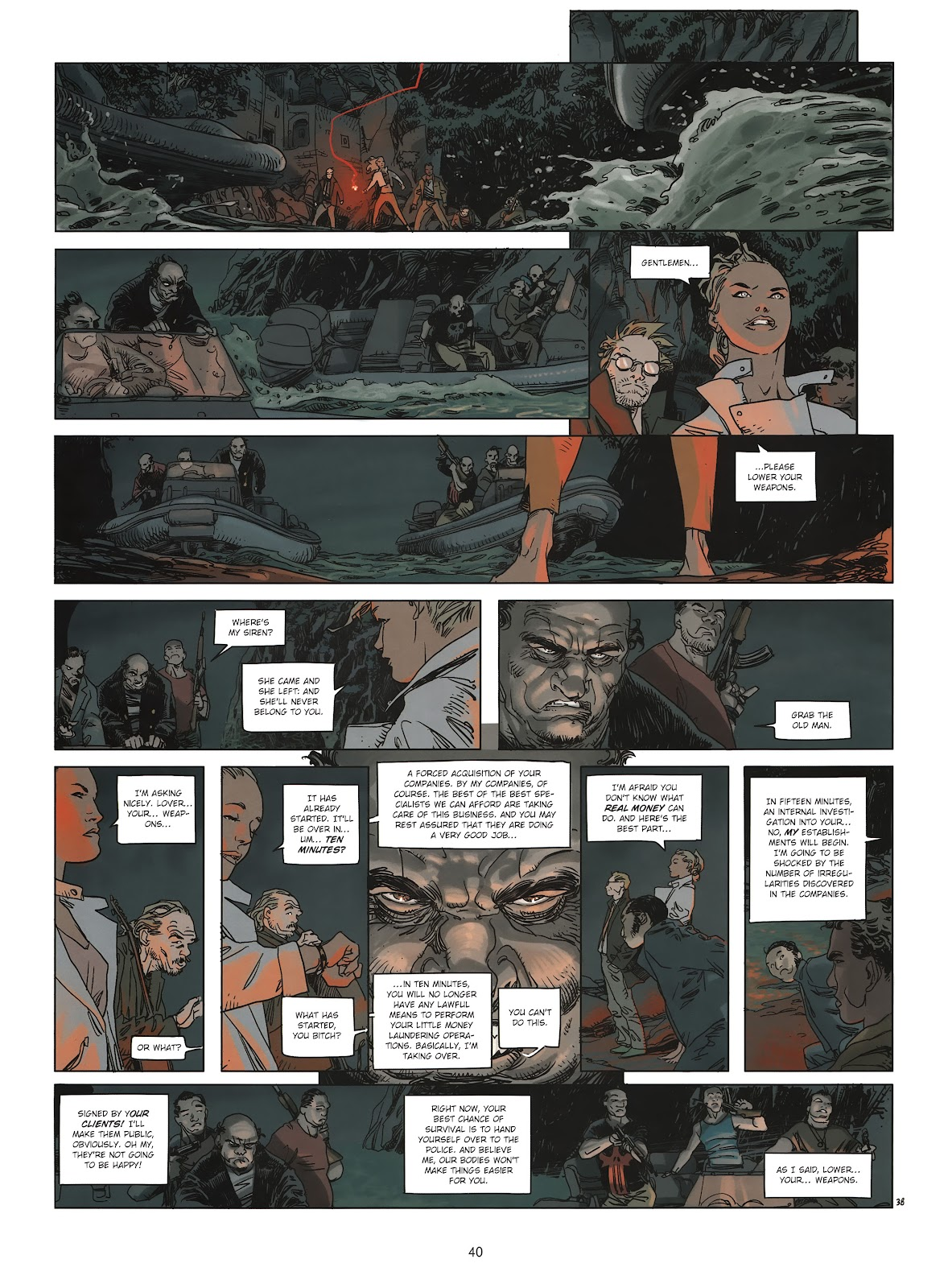 Read online Cutting Edge (2013) comic -  Issue #2 - 39