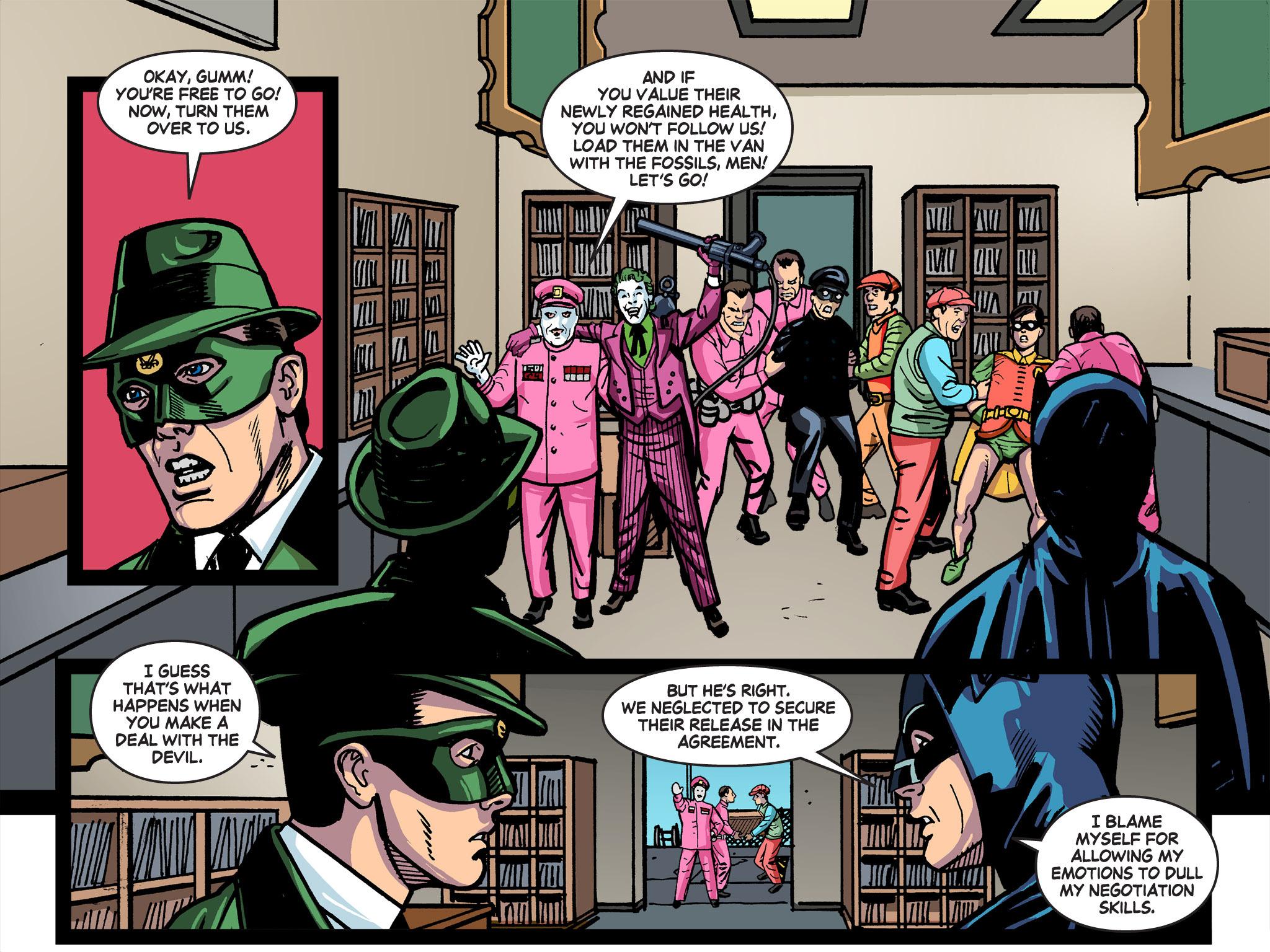 Read online Batman '66 Meets the Green Hornet [II] comic -  Issue #5 - 25