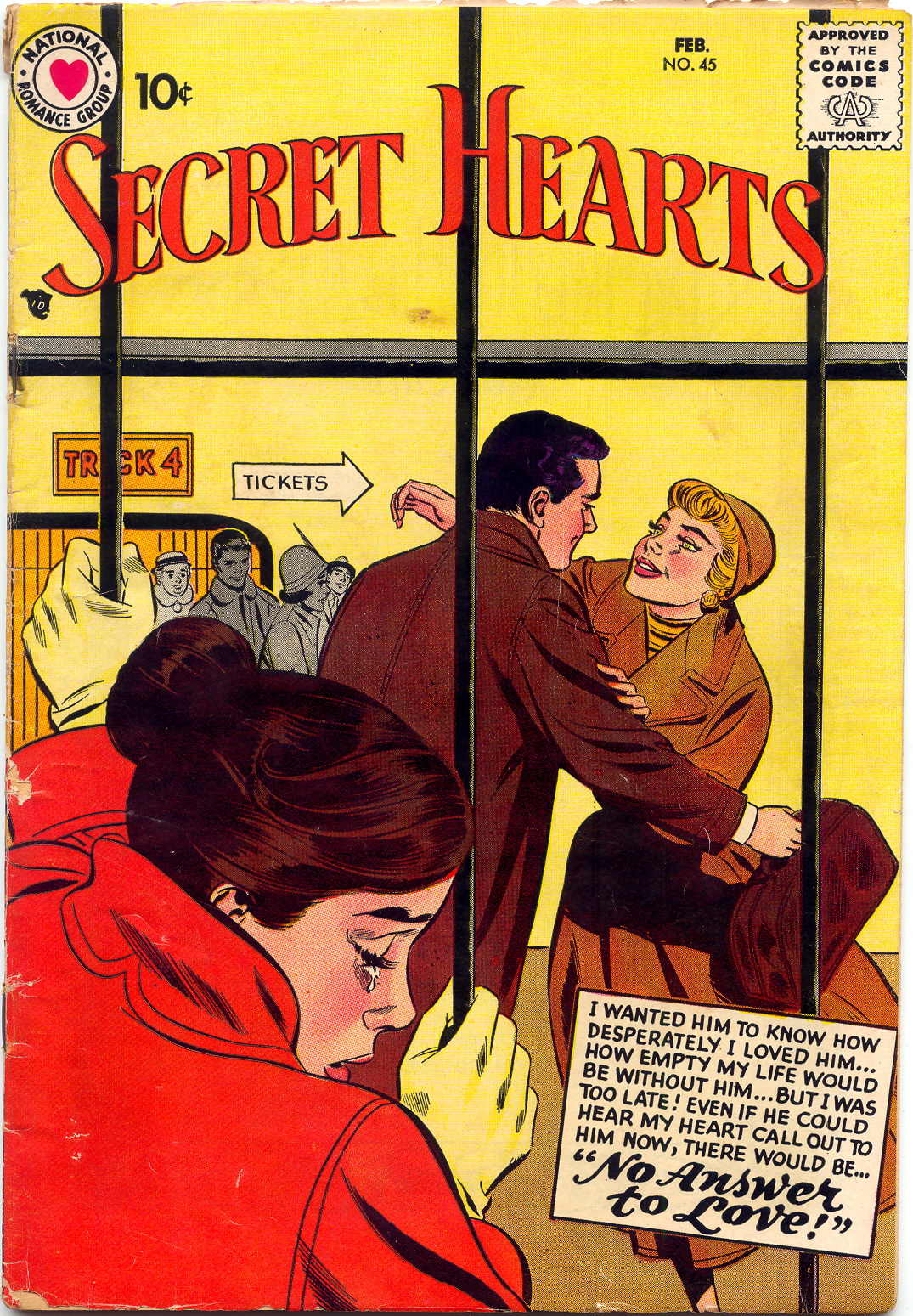 Read online Secret Hearts comic -  Issue #45 - 1