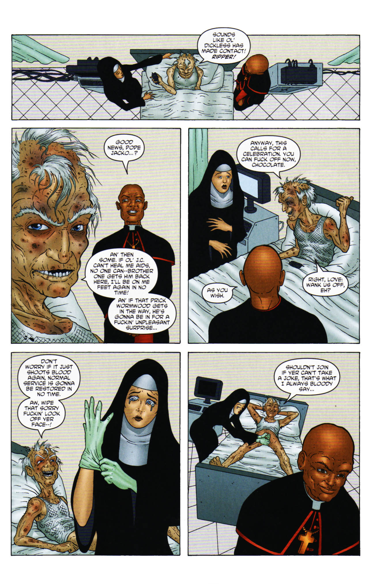 Read online Chronicles of Wormwood: The Last Enemy comic -  Issue # Full - 26