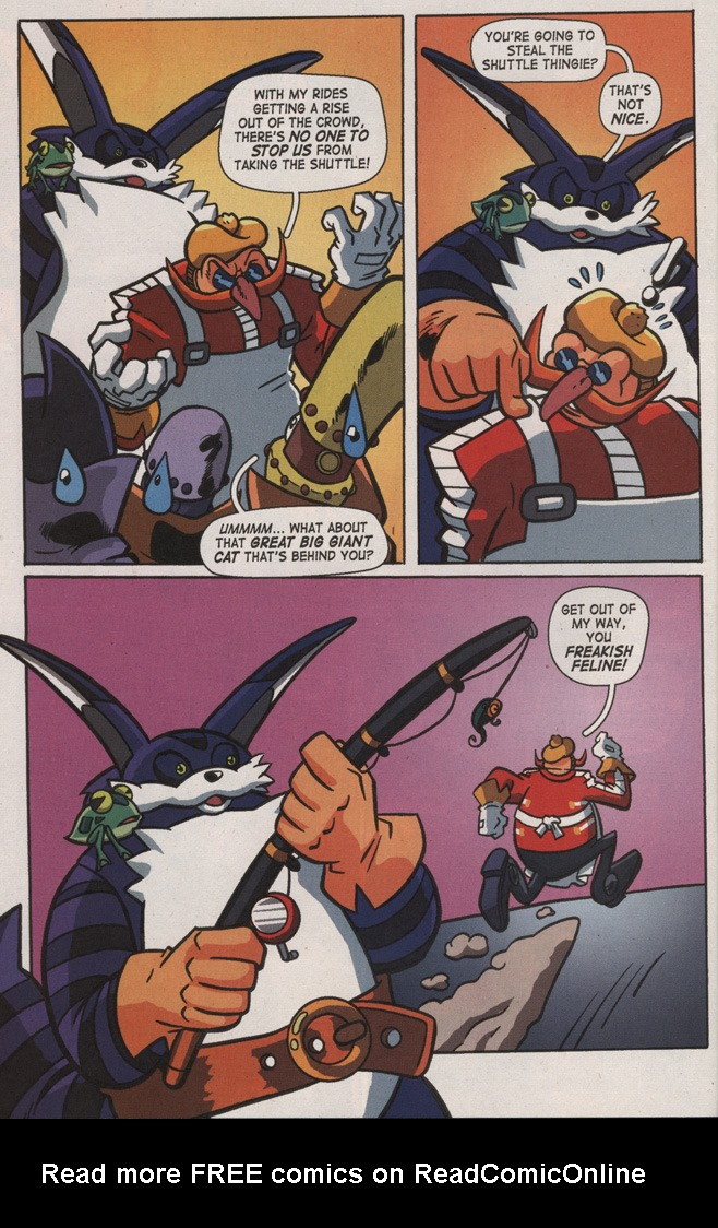 Read online Sonic X comic -  Issue #8 - 26