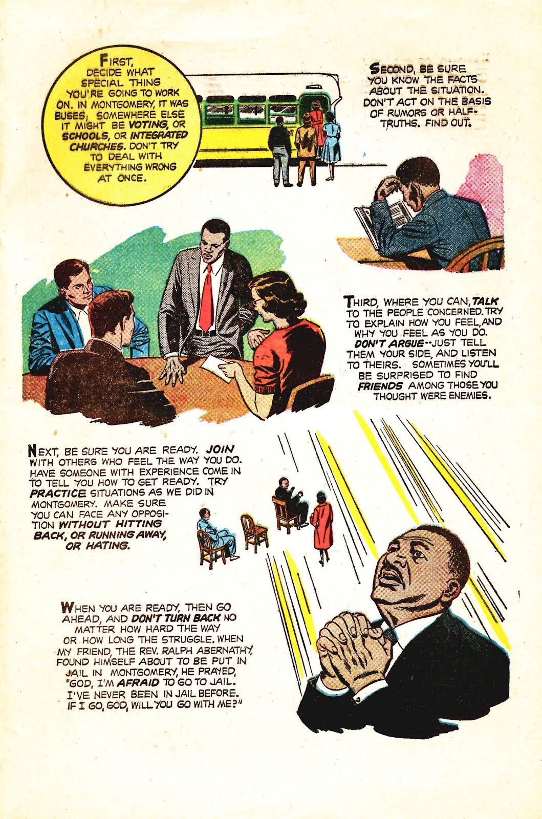 Read online Martin Luther King and the Montgomery Story comic -  Issue # Full - 15