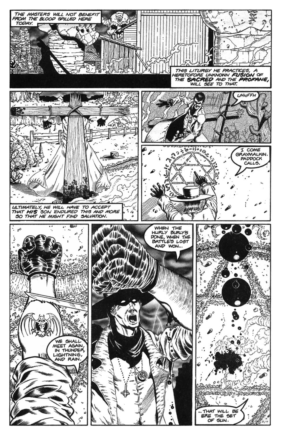 Read online Gunfighters in Hell comic -  Issue #2 - 13