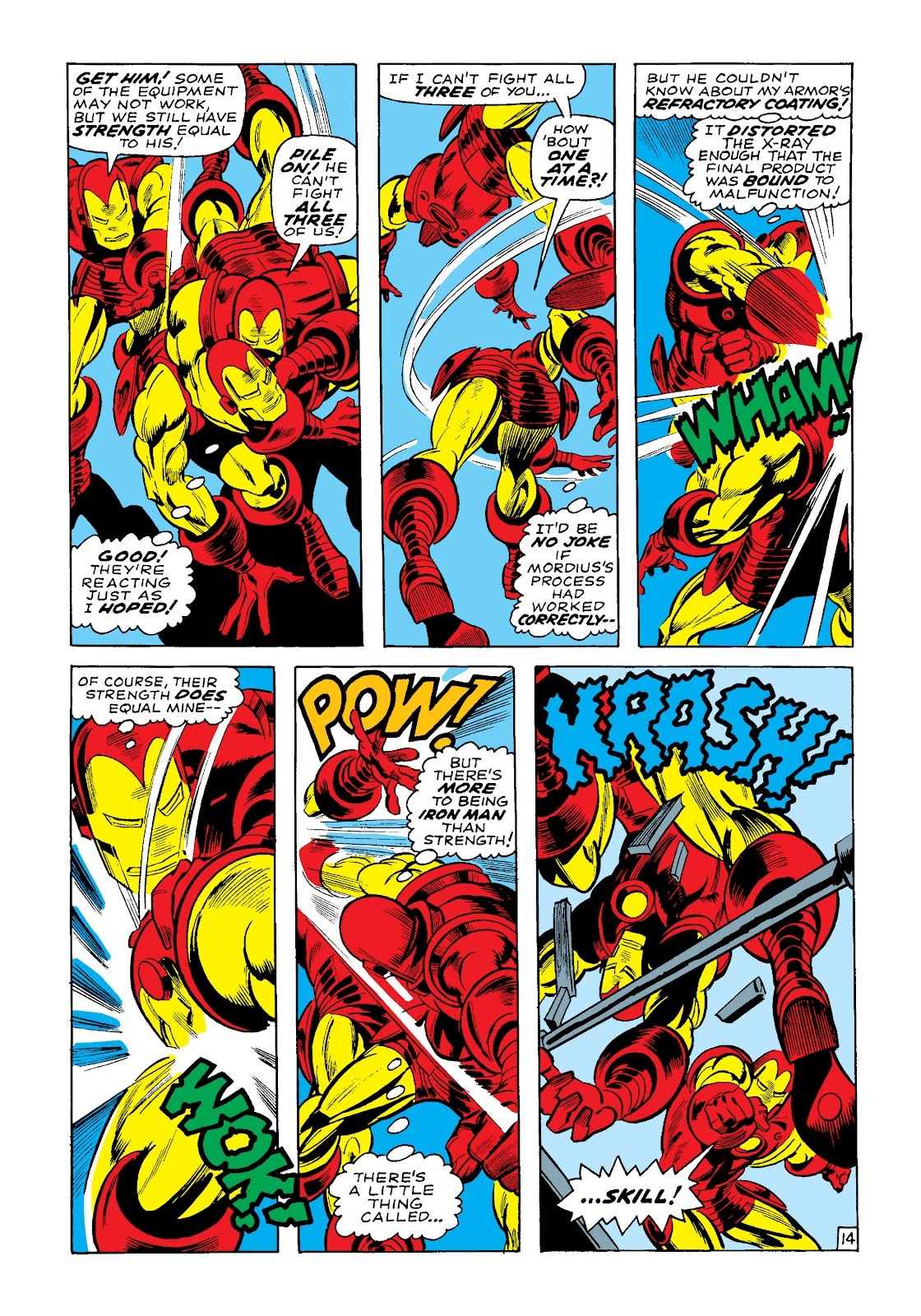 Read online Marvel Masterworks: The Invincible Iron Man comic -  Issue # TPB 4 (Part 3) - 38