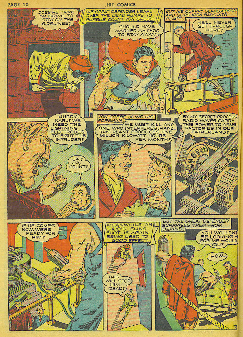 Read online Hit Comics comic -  Issue #21 - 12