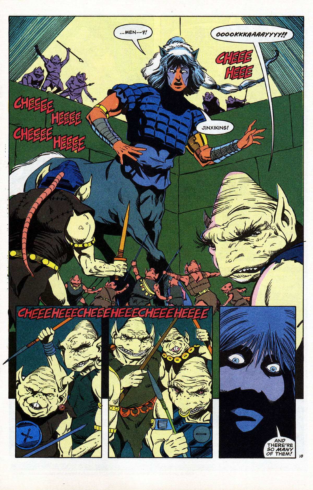 Read online Advanced Dungeons & Dragons comic -  Issue #10 - 12