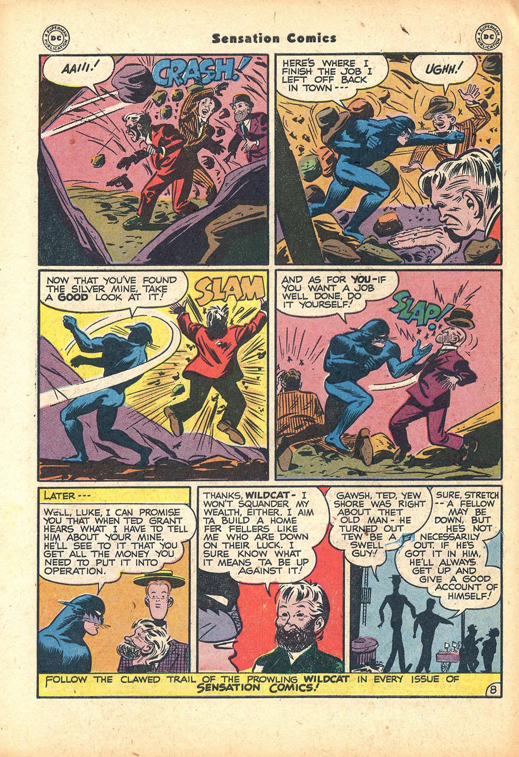 Read online Sensation (Mystery) Comics comic -  Issue #63 - 48
