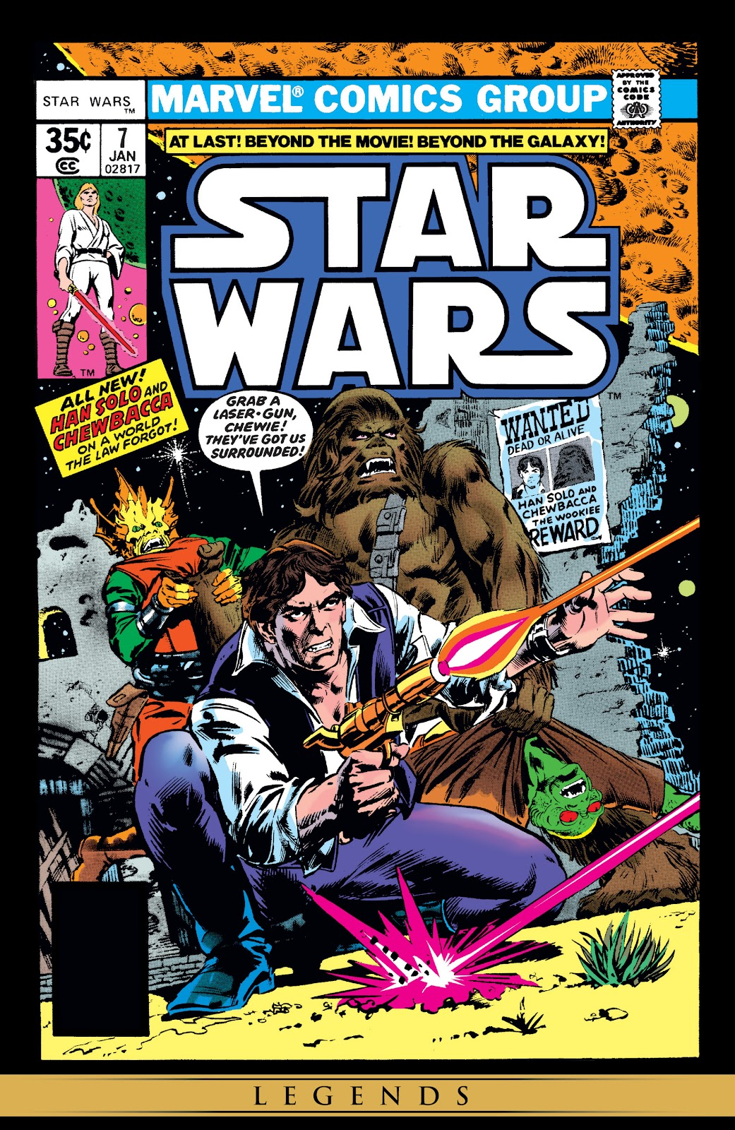 Read online Star Wars Legends: The Original Marvel Years - Epic Collection comic -  Issue # TPB 1 (Part 2) - 17