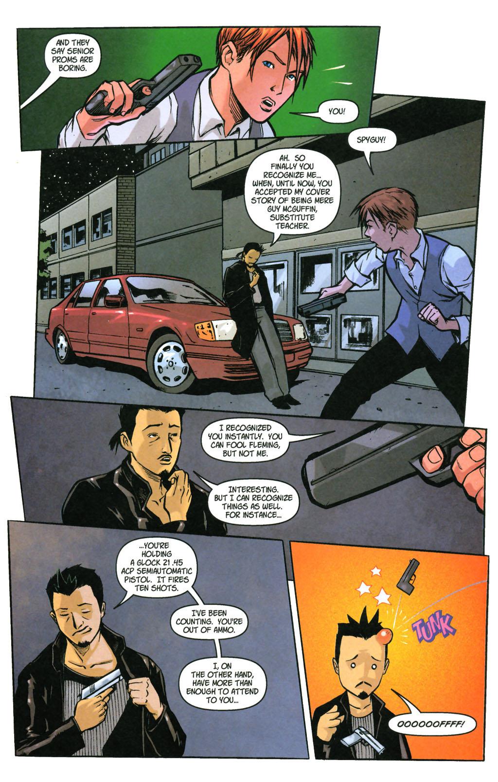 Read online SpyBoy: Final Exam comic -  Issue #3 - 9