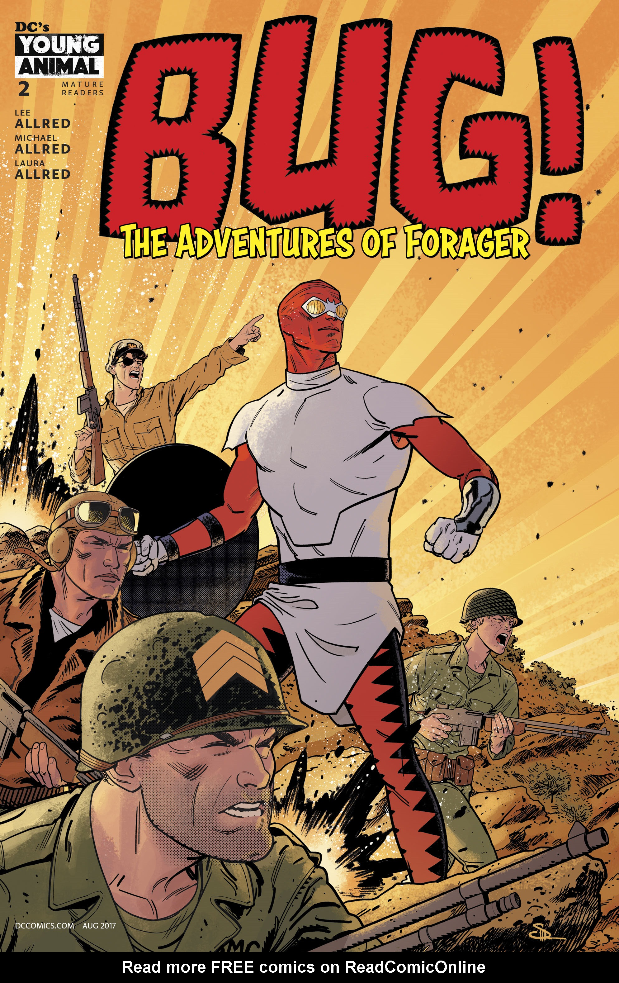 Read online Bug! The Adventures of Forager comic -  Issue #2 - 3