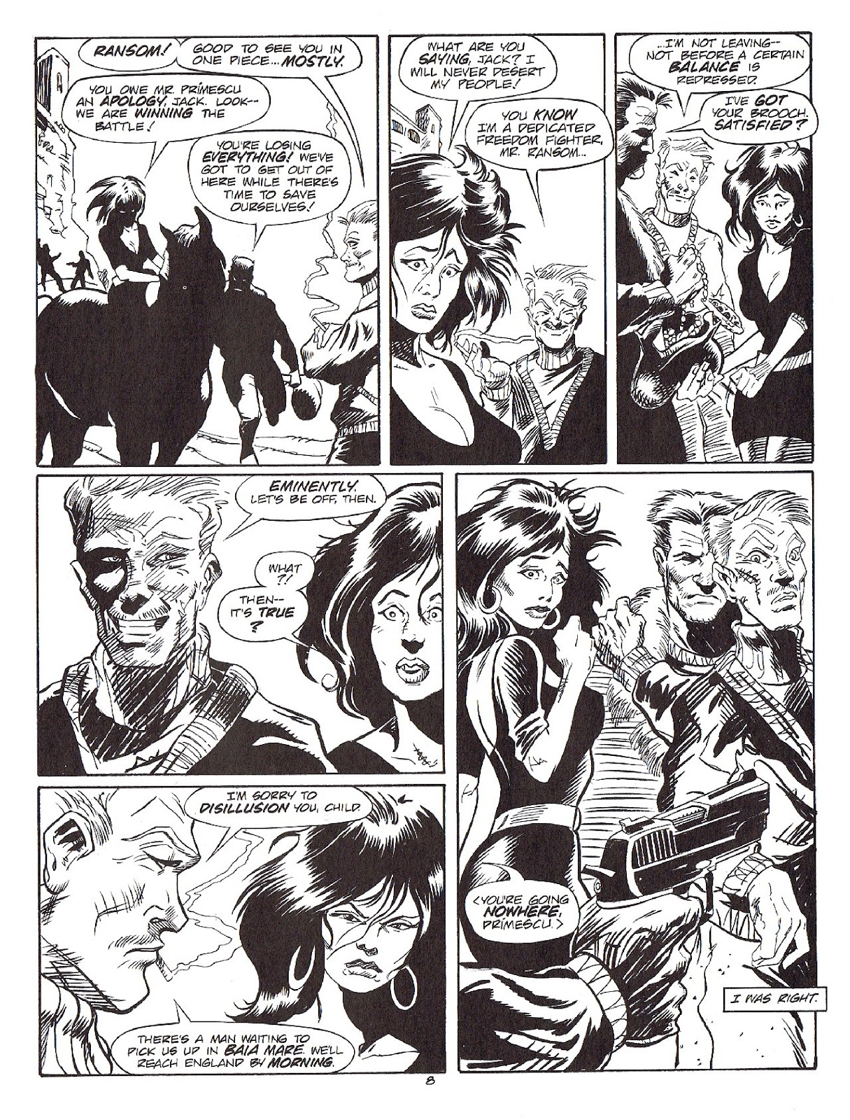 Read online Merchants of Death comic -  Issue #4 - 38