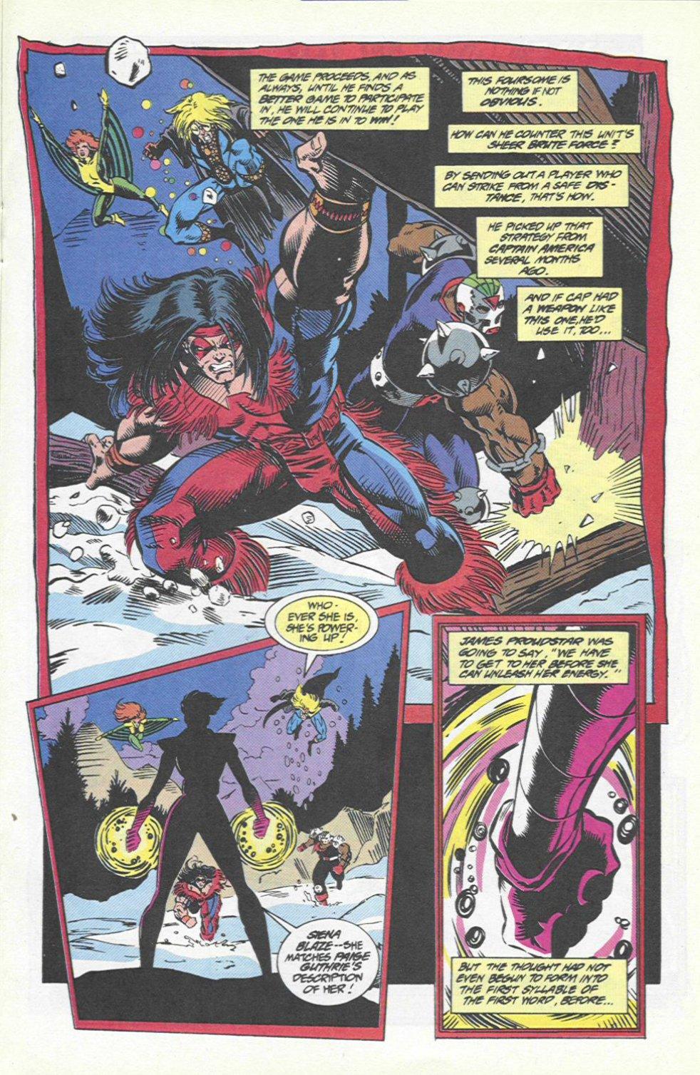 The New Warriors Issue #46 #50 - English 11