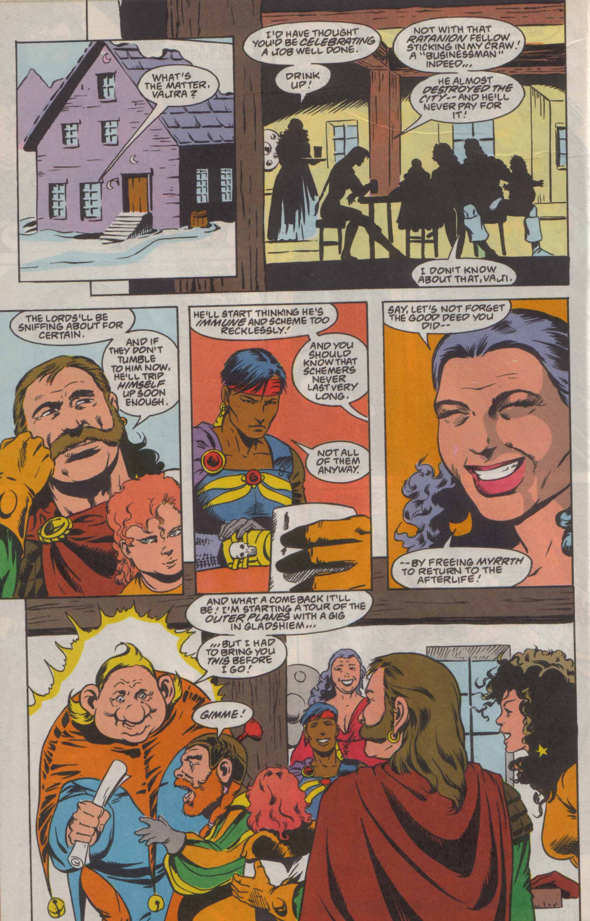 Read online Advanced Dungeons & Dragons comic -  Issue #8 - 23