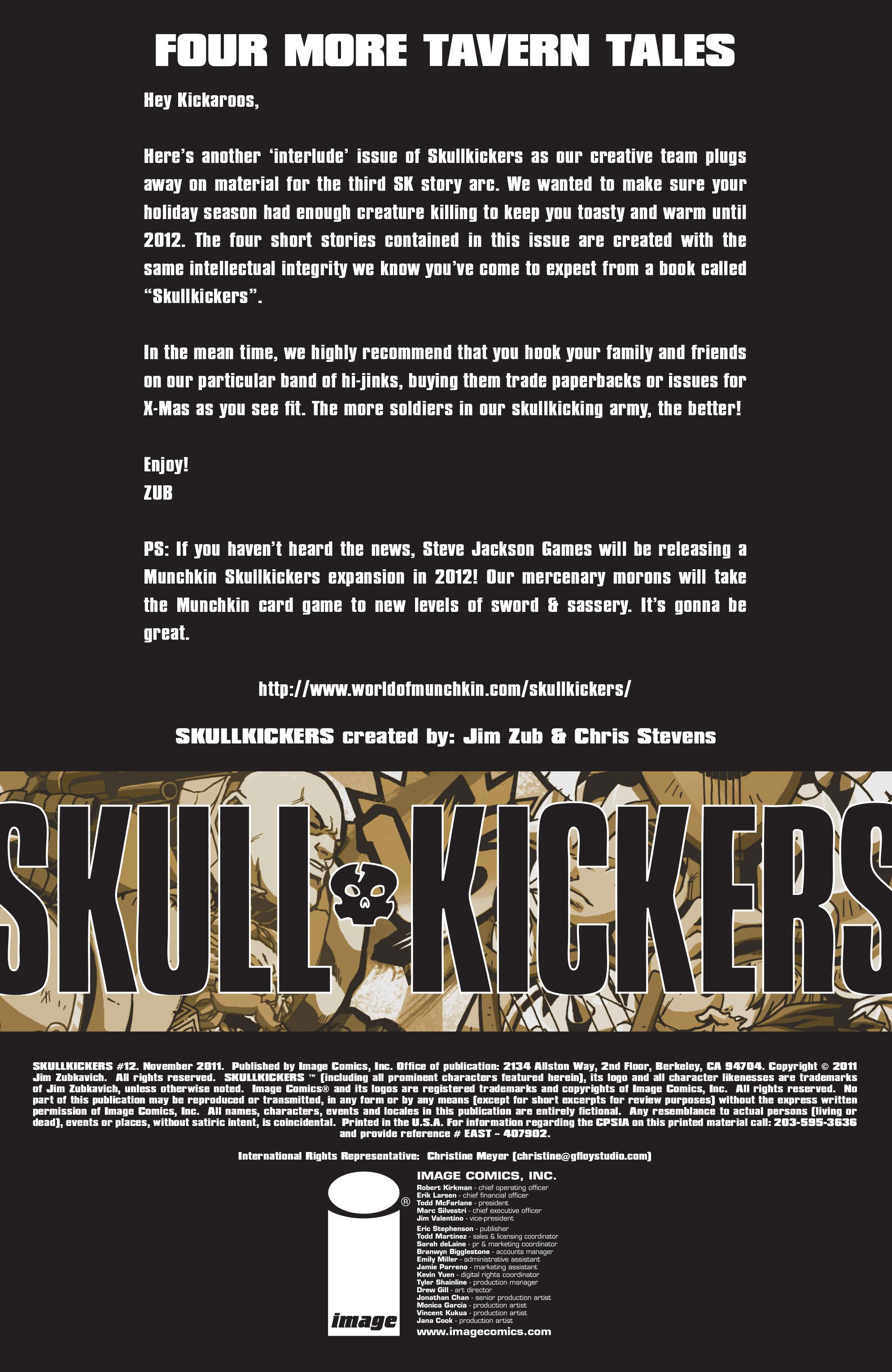 Read online Skullkickers comic -  Issue #12 - 2