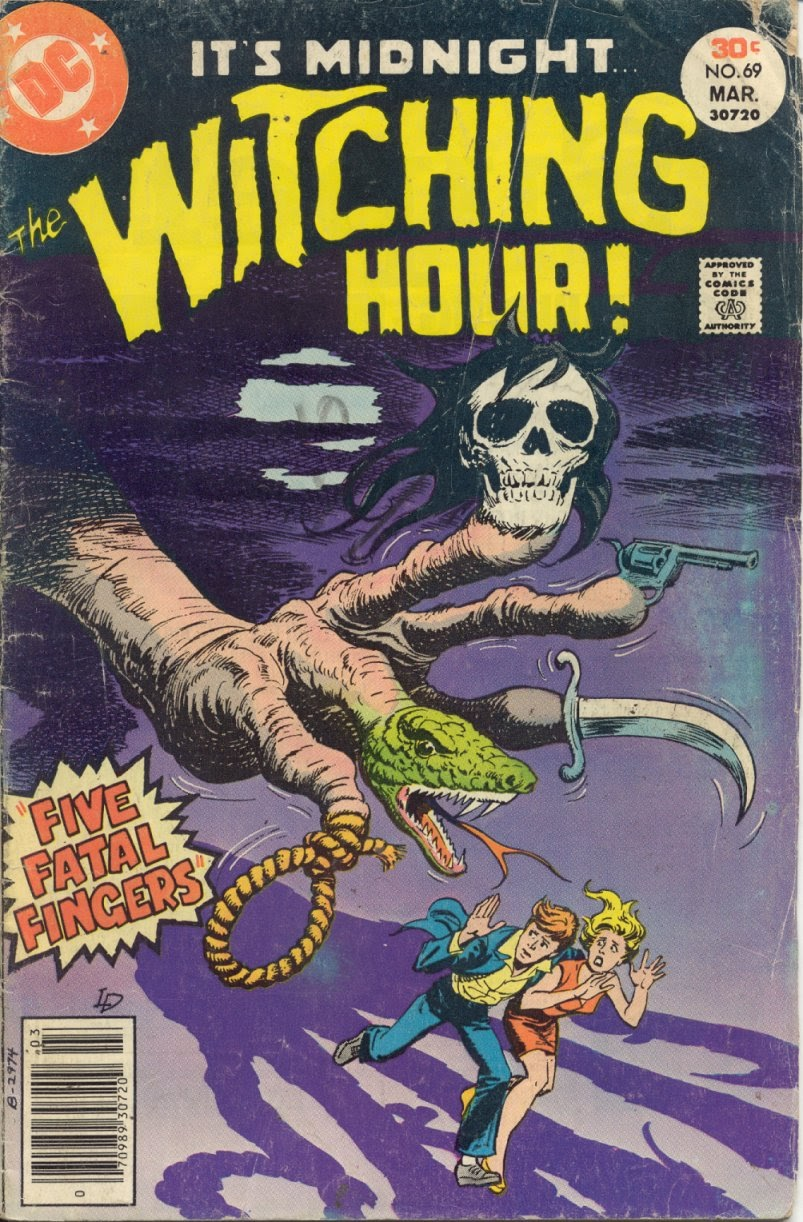 The Witching Hour (1969) issue 69 - Page 1