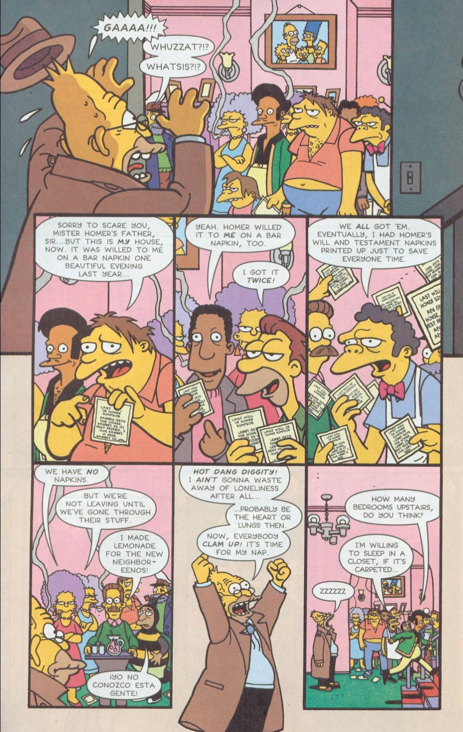 Read online Treehouse of Horror comic -  Issue #8 - 5