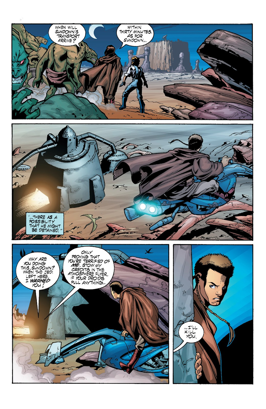Read online Star Wars Legends: Rise of the Sith - Epic Collection comic -  Issue # TPB 1 (Part 4) - 29