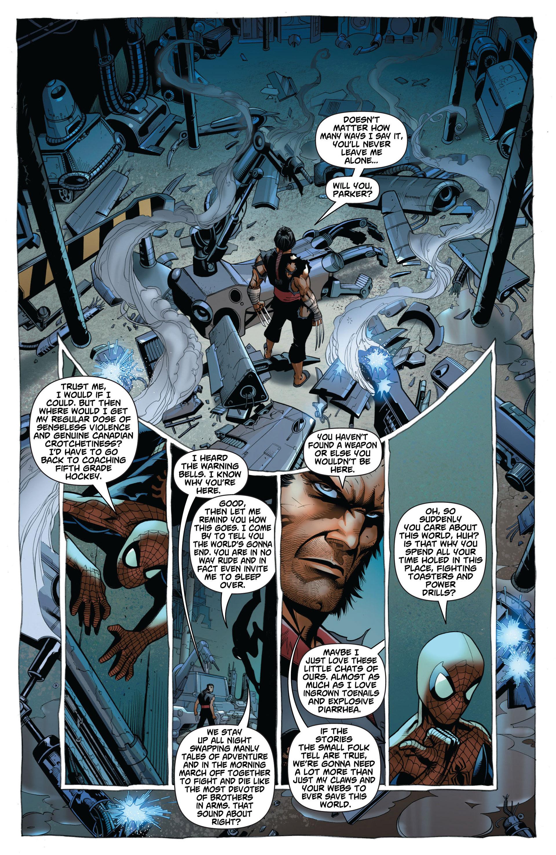 Read online Astonishing Spider-Man & Wolverine comic -  Issue #2 - 9