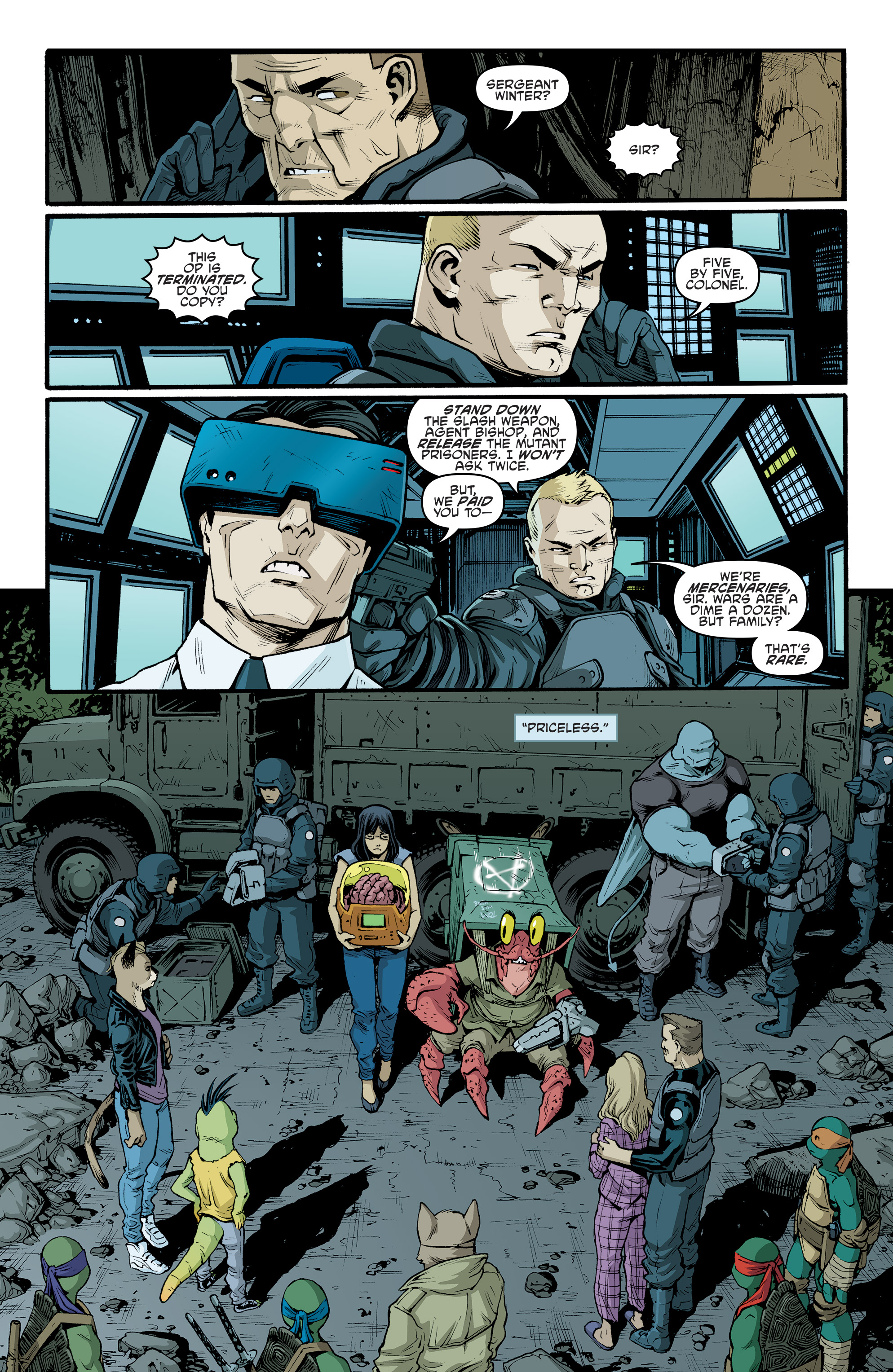Read online Teenage Mutant Ninja Turtles (2011) comic -  Issue #70 - 14