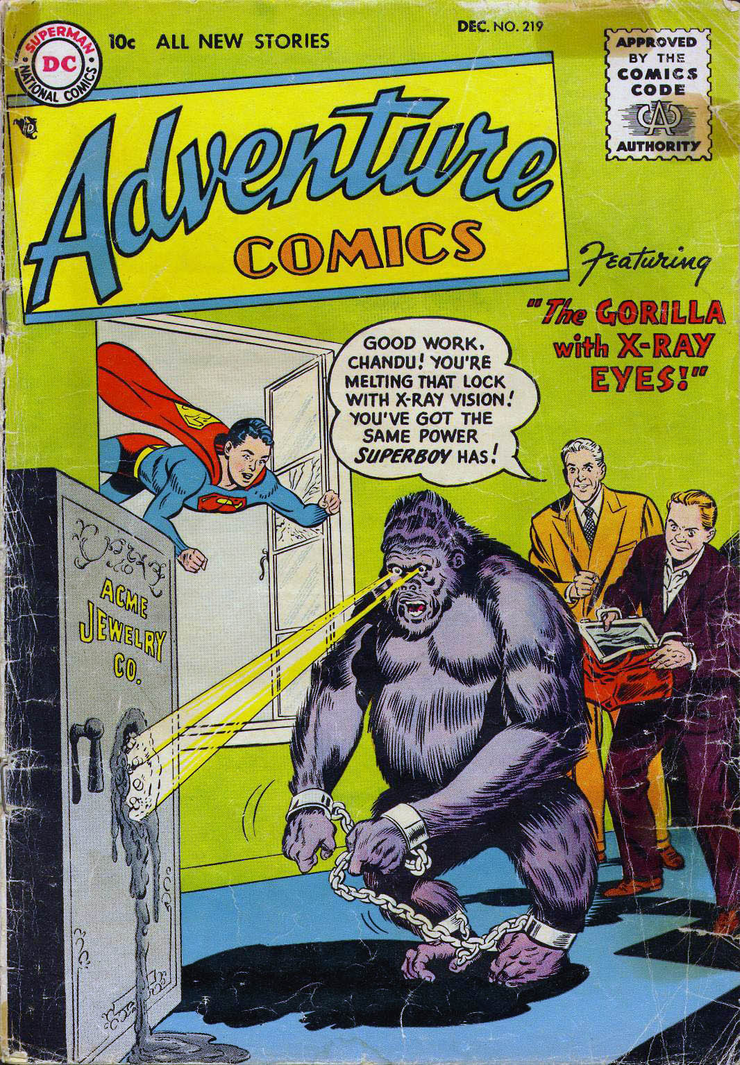 Read online Adventure Comics (1938) comic -  Issue #219 - 37
