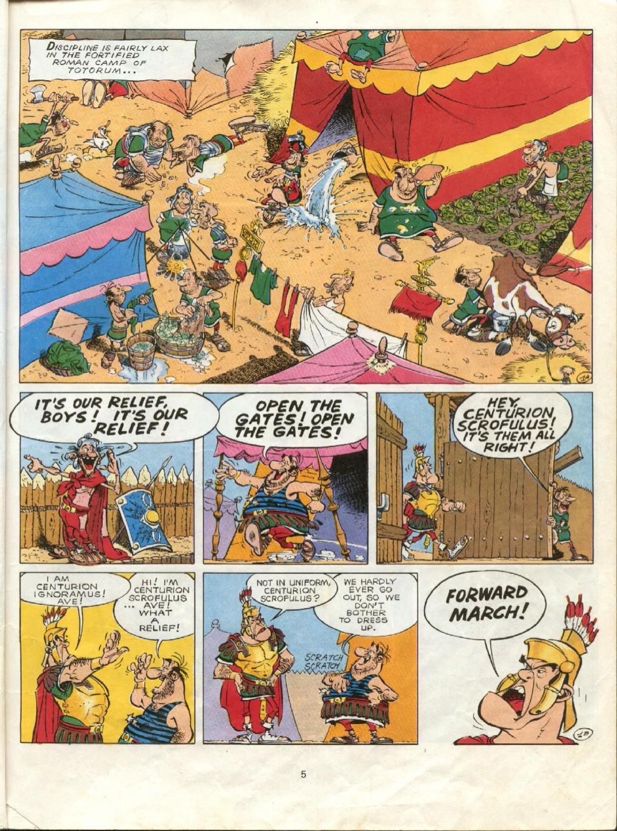 Read online Asterix comic -  Issue #23 - 2