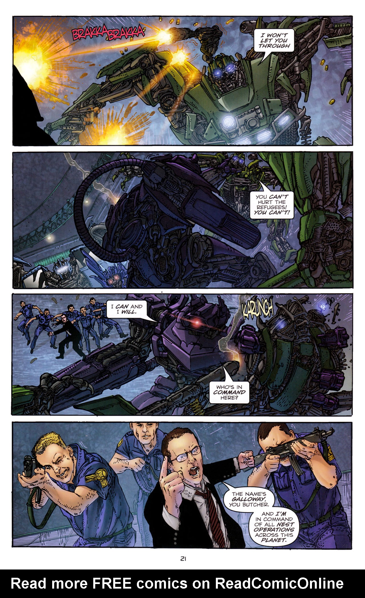 Read online Transformers: Dark of the Moon Rising Storm comic -  Issue #3 - 22