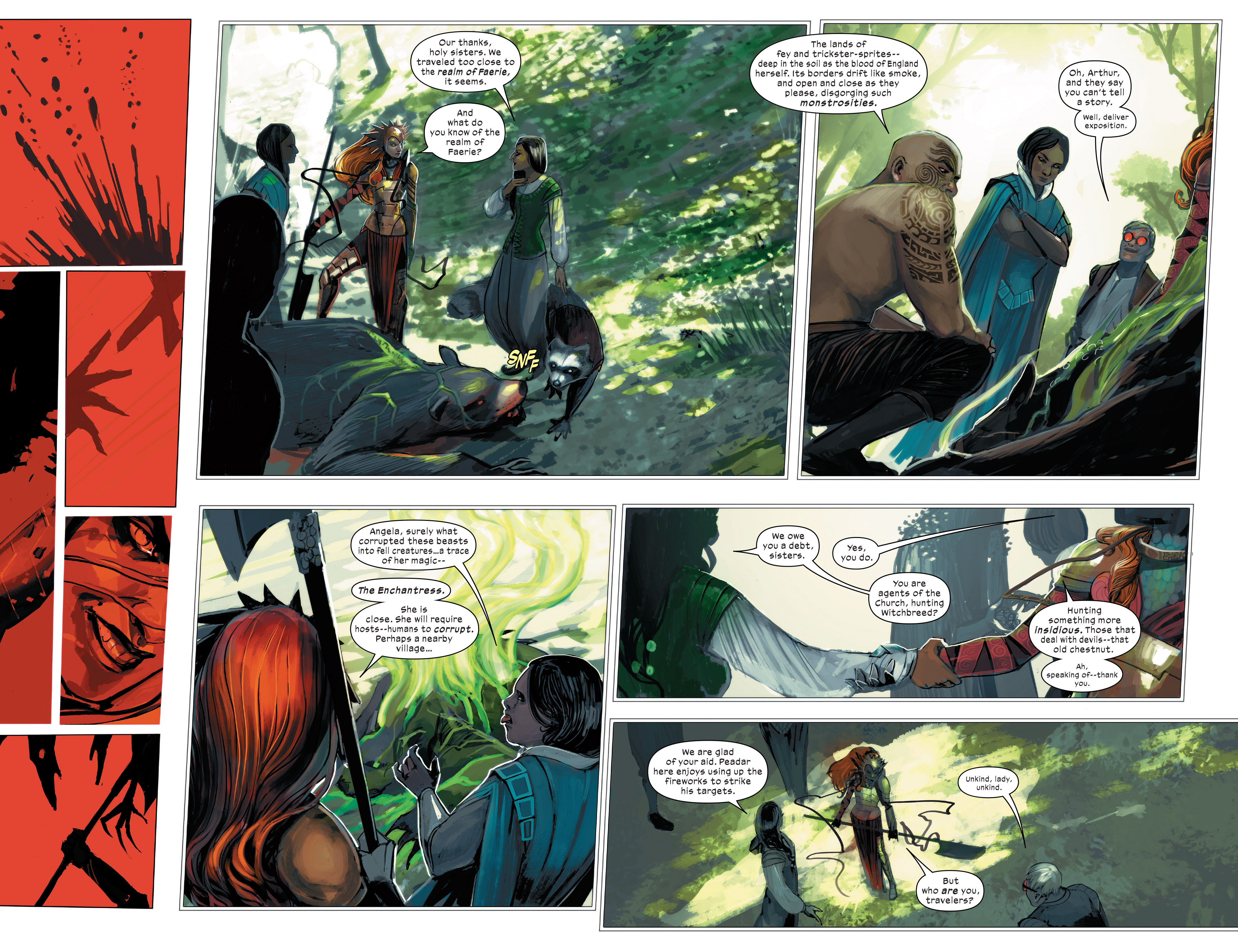Read online 1602 Witch Hunter Angela comic -  Issue #2 - 6