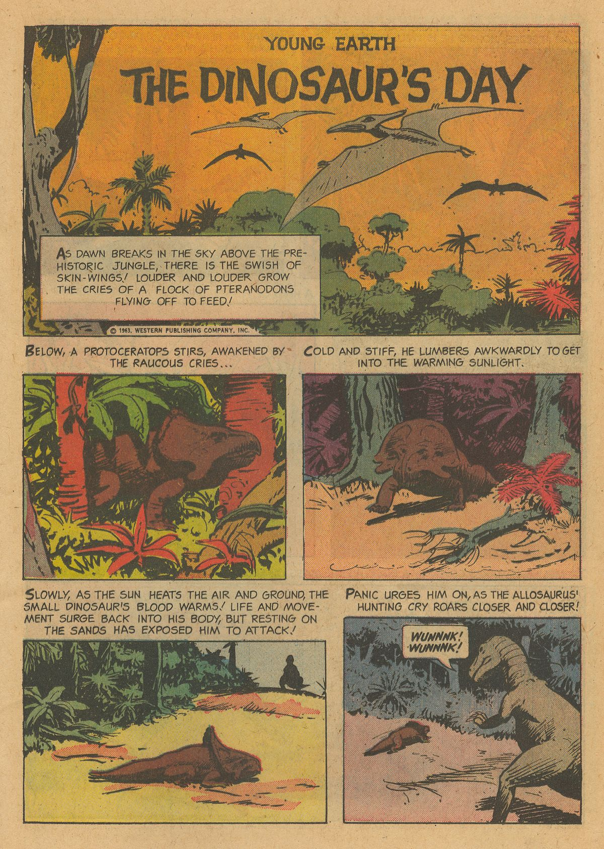 Read online Turok, Son of Stone comic -  Issue #34 - 17