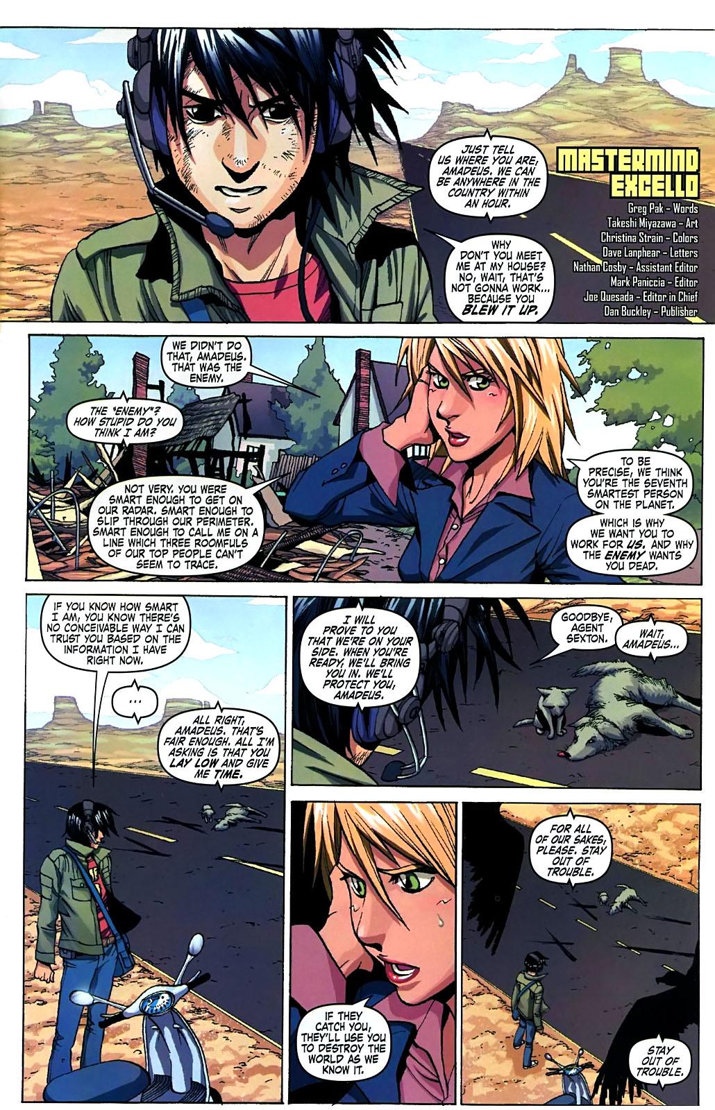 Read online Amazing Fantasy (2004) comic -  Issue #15 - 3