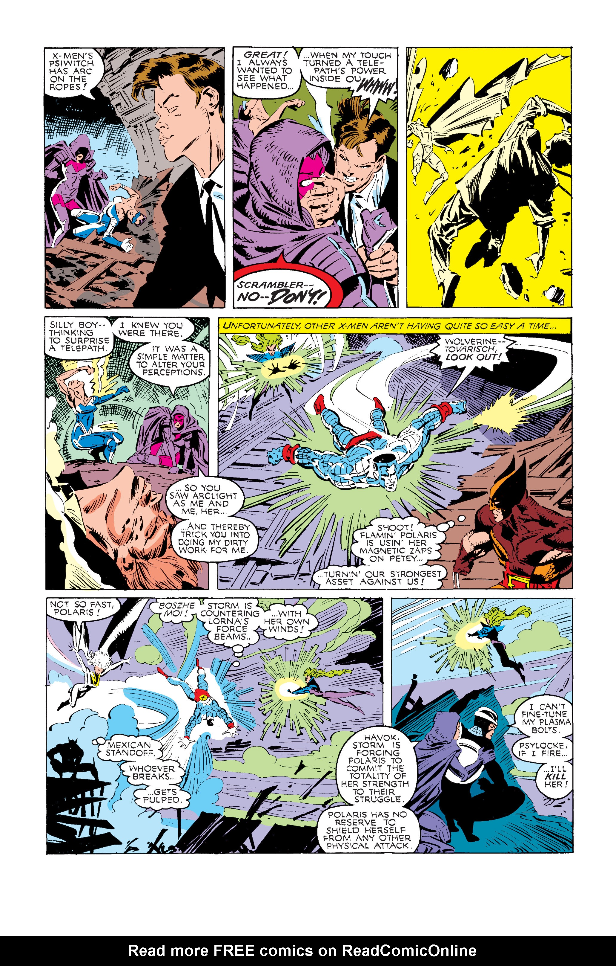 Read online Uncanny X-Men (1963) comic -  Issue #240 - 21
