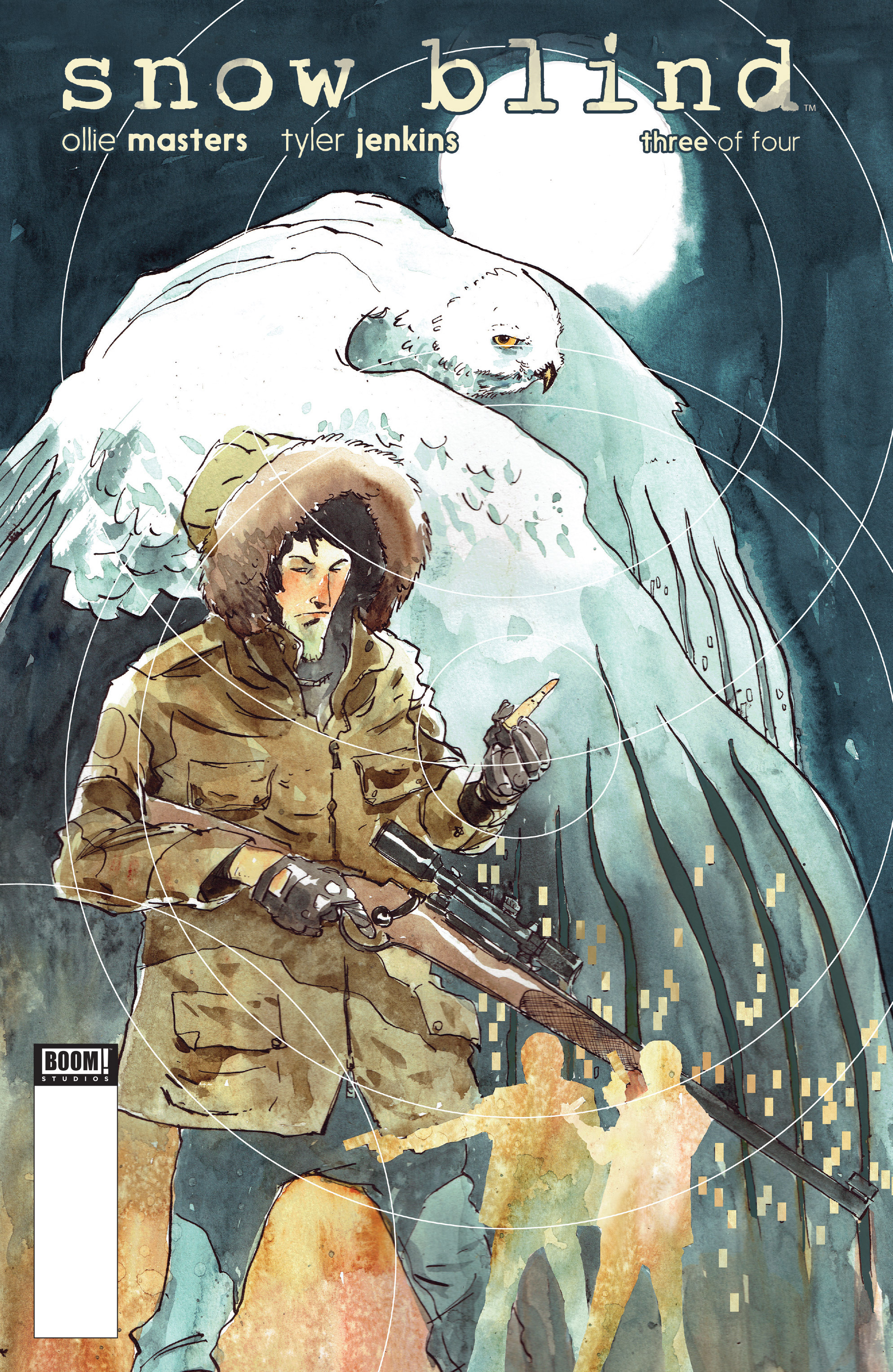 Read online Snow Blind comic -  Issue #3 - 1
