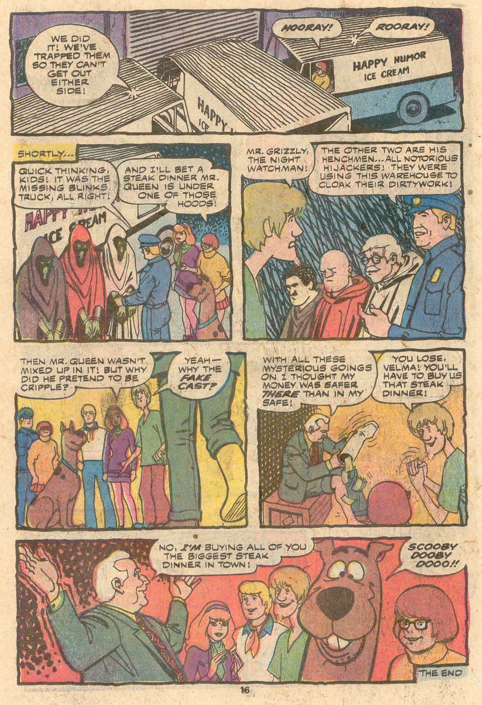 Read online Scooby-Doo (1977) comic -  Issue #1 - 11