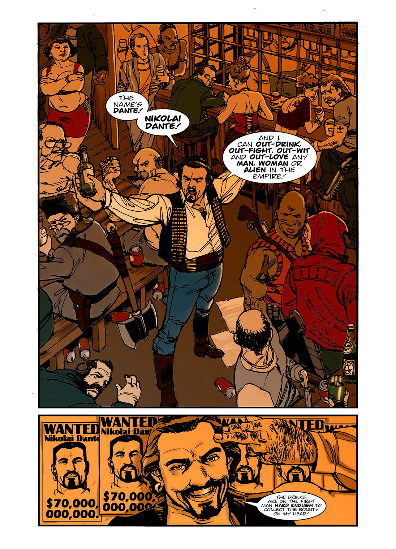 Read online Nikolai Dante comic -  Issue # TPB 6 - 10