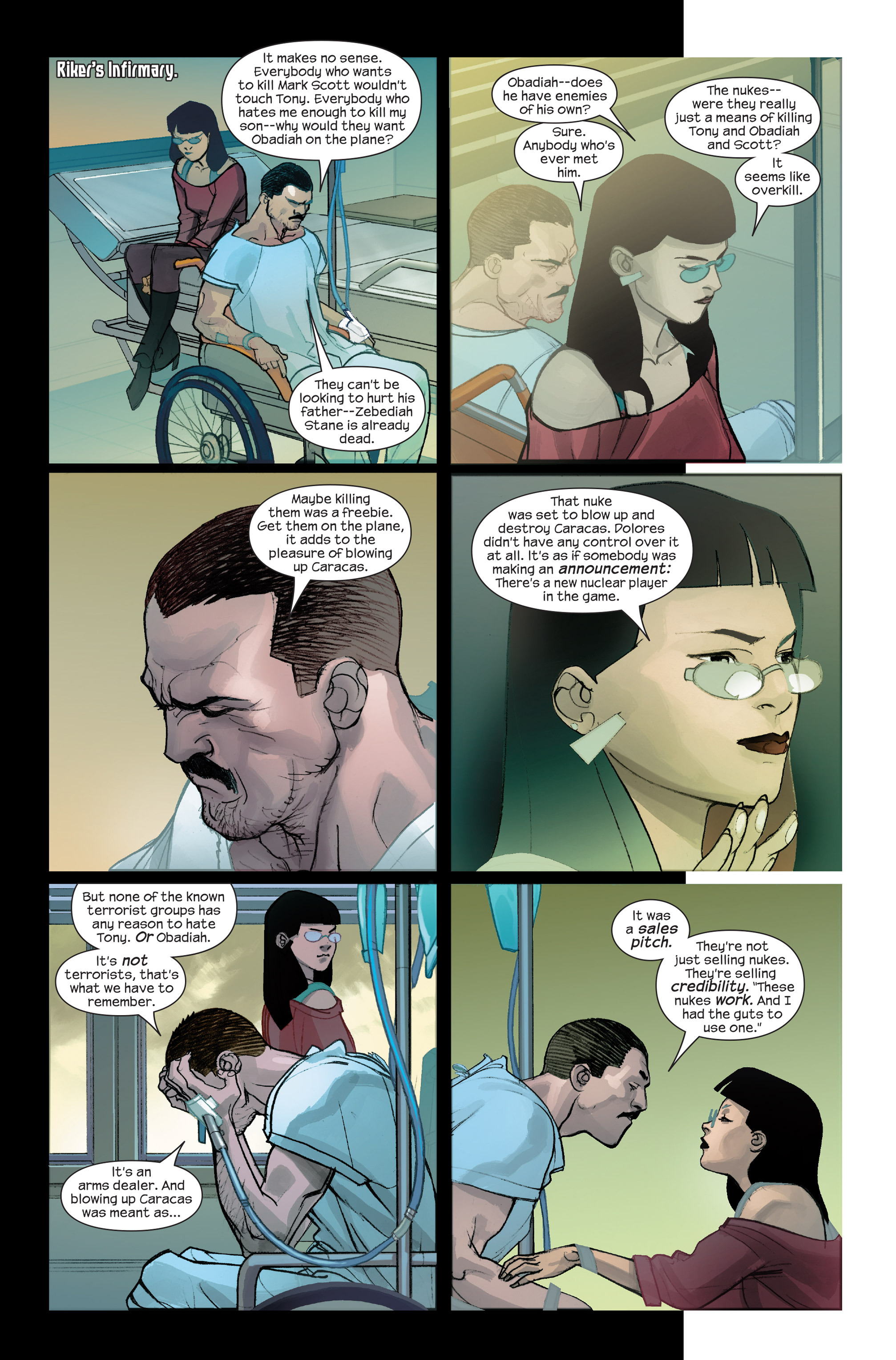 Read online Ultimate Iron Man II comic -  Issue #4 - 18