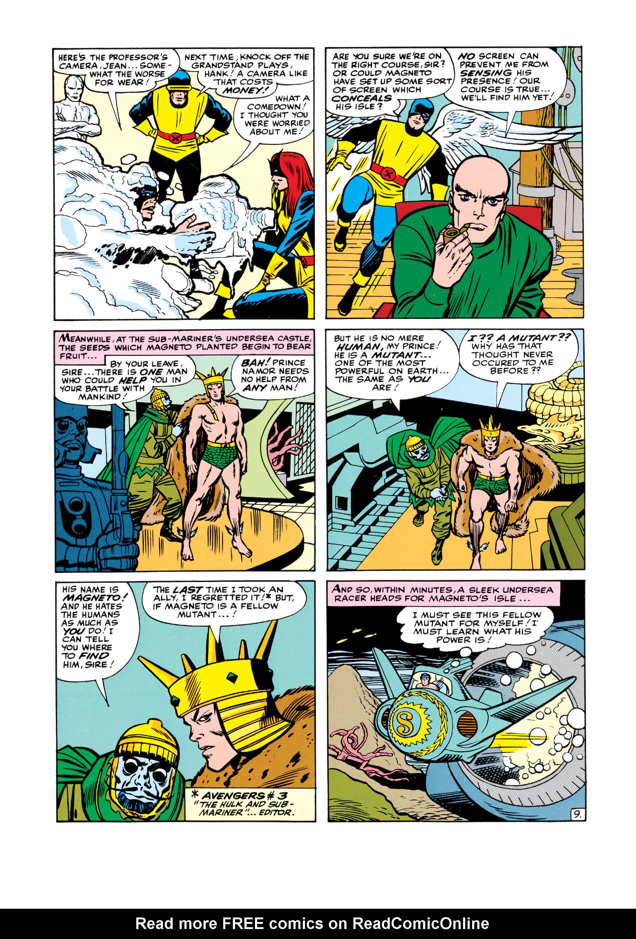Uncanny X-Men (1963) 6 Page 9