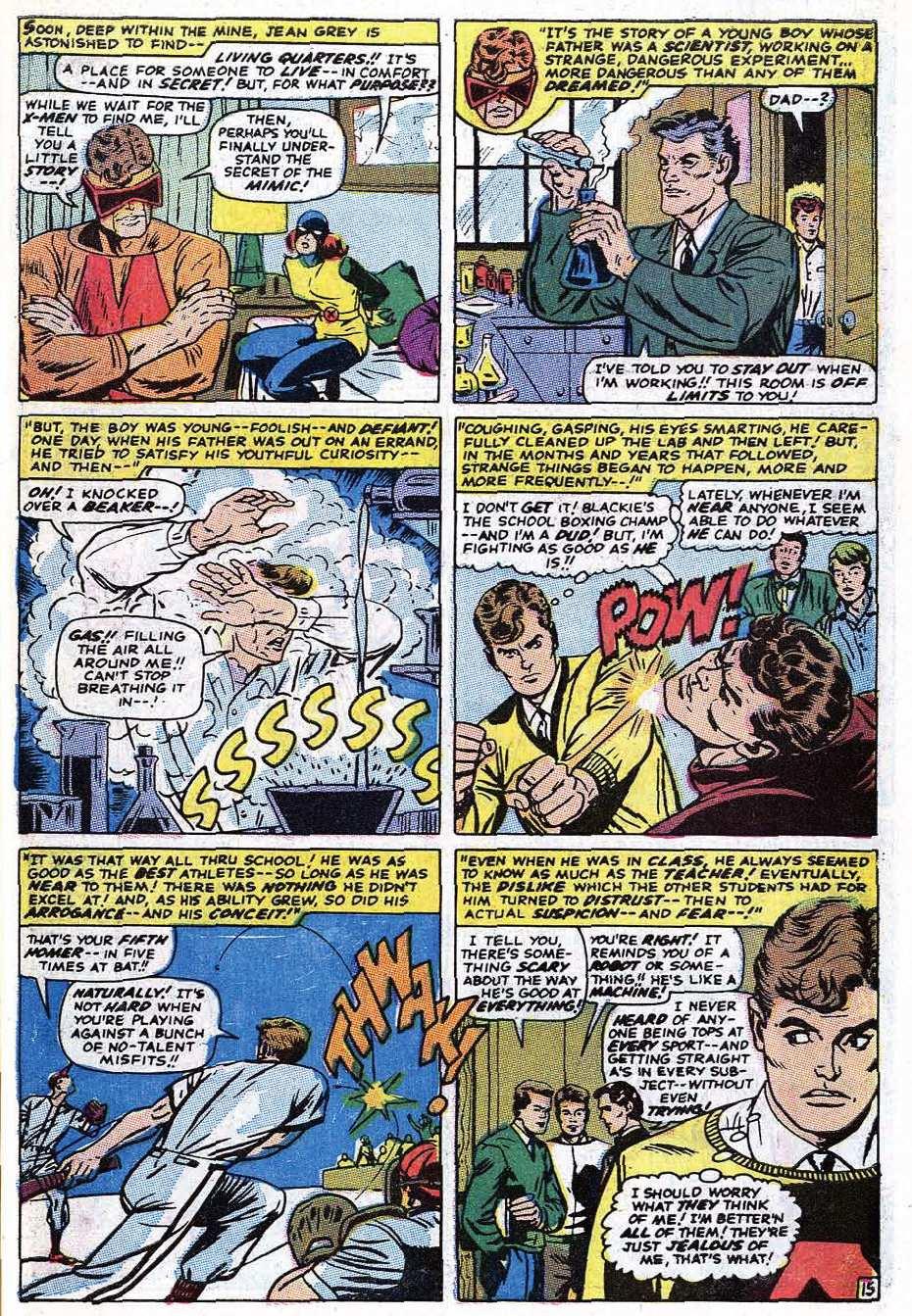 Read online Uncanny X-Men (1963) comic -  Issue #69 - 43