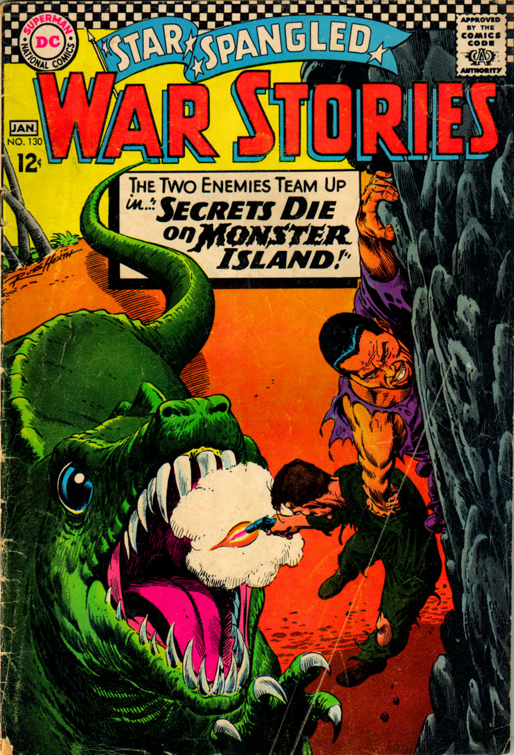 Star Spangled War Stories (1952) issue 130 - Page 1