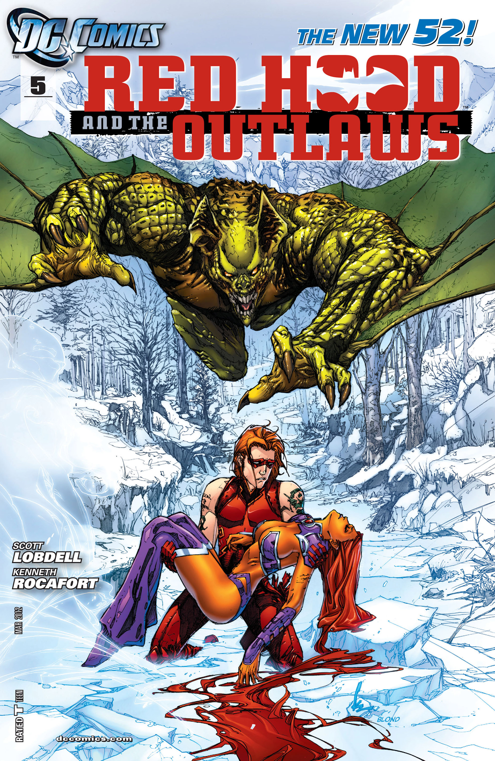 Red Hood And The Outlaws (2011) issue 5 - Page 1