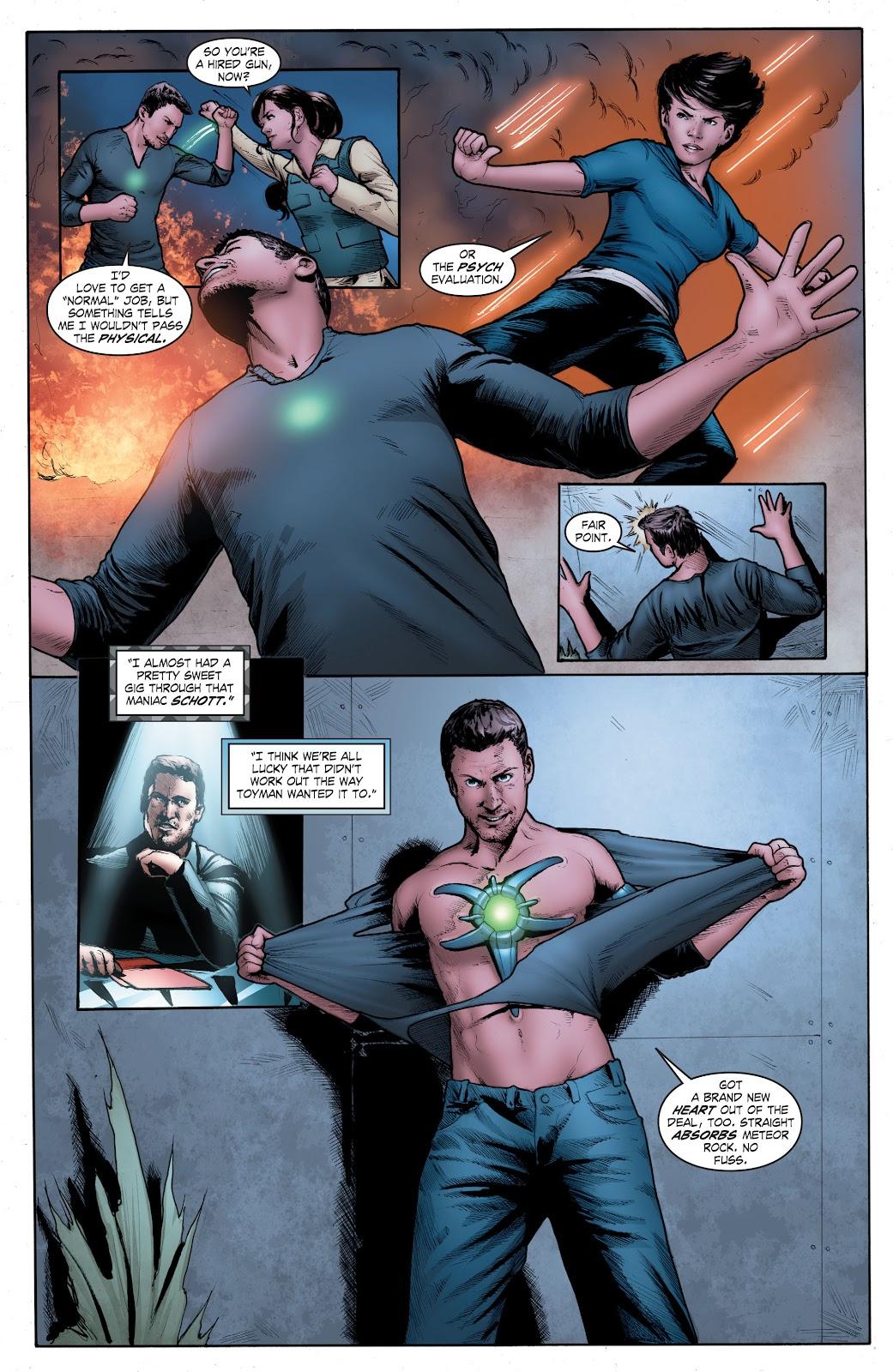 Read online Smallville Season 11 [II] comic -  Issue # TPB 4 - 129