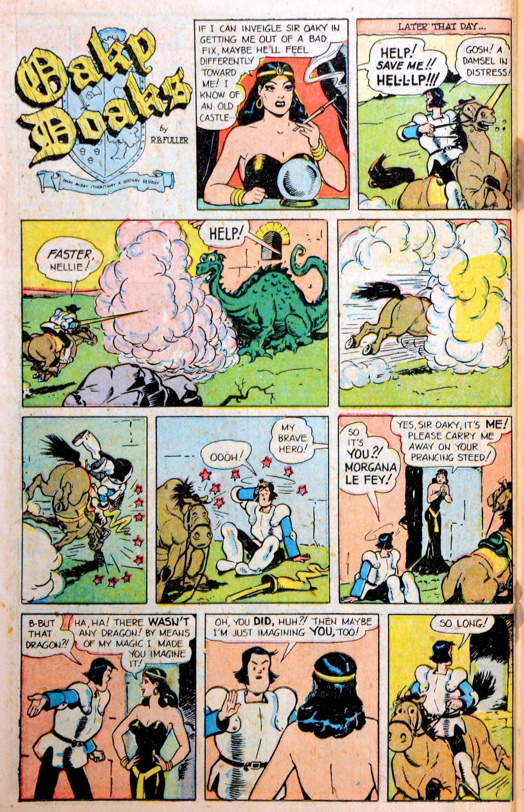 Read online Famous Funnies comic -  Issue #194 - 36