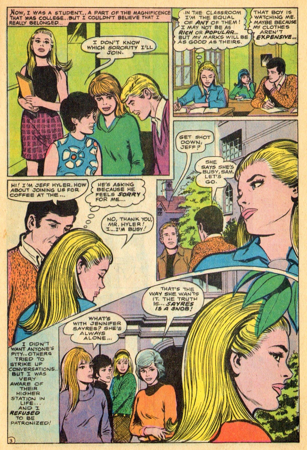 Read online Secret Hearts comic -  Issue #134 - 5