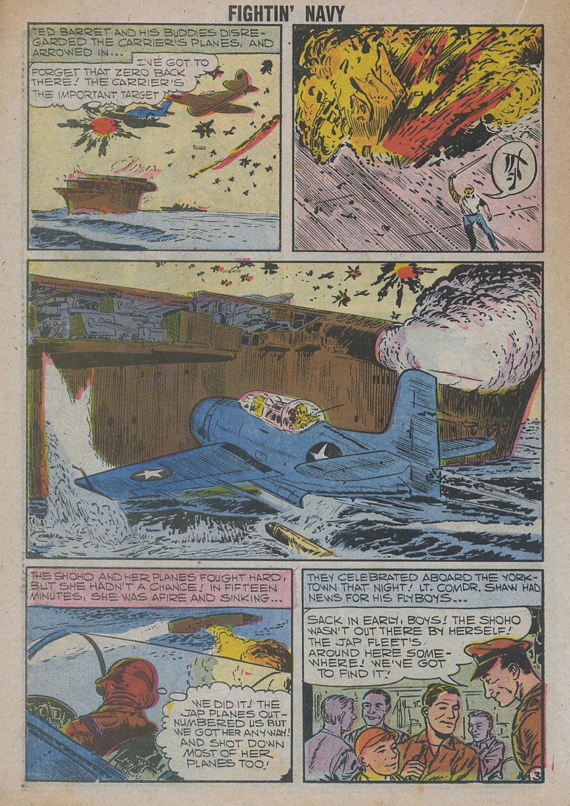 Read online Fightin' Navy comic -  Issue #82 - 40