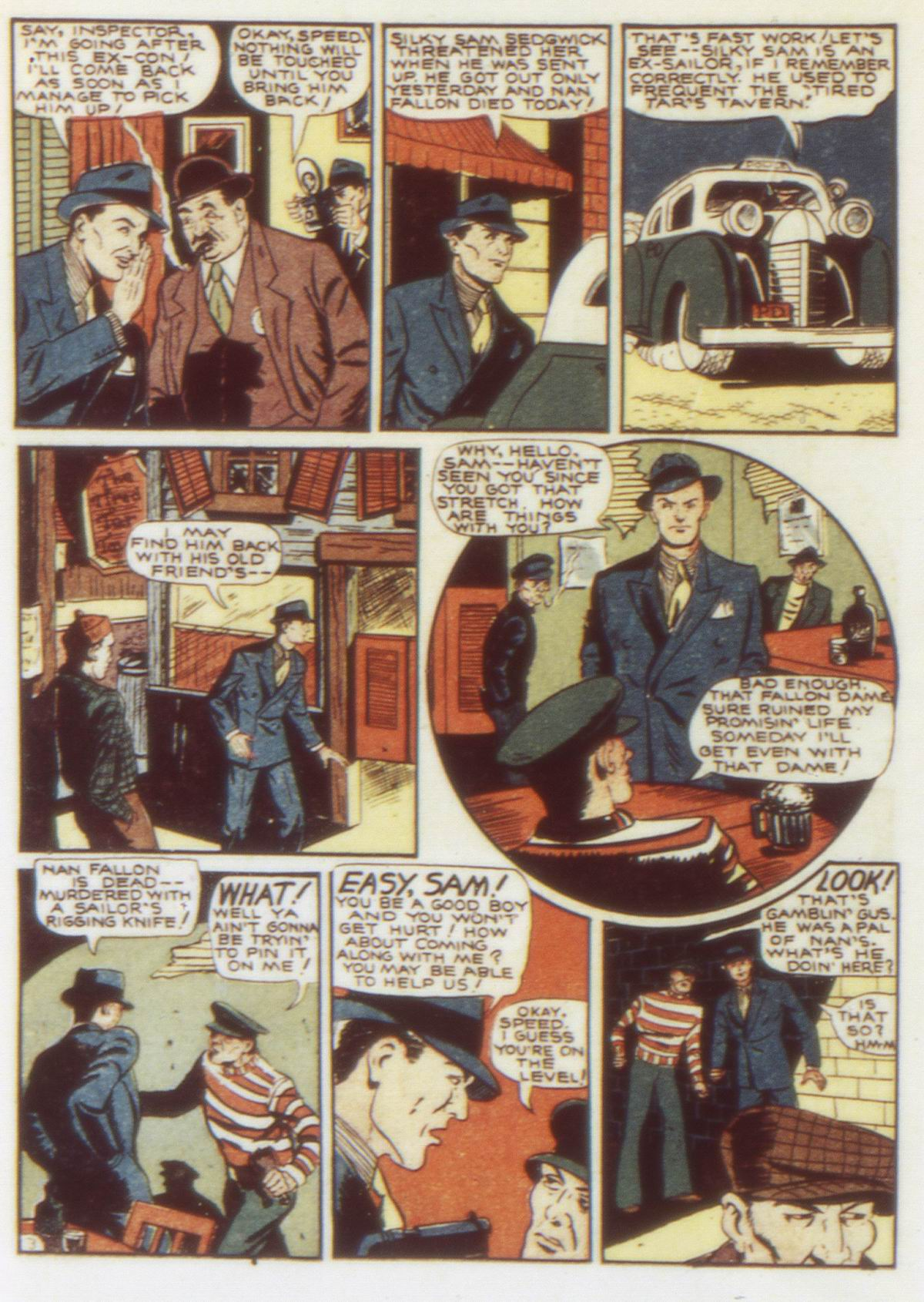 Read online Detective Comics (1937) comic -  Issue #58 - 40
